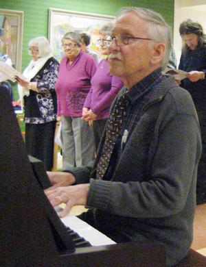 Herbert Sjödin stod för musikunderhållningen.