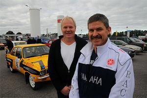 Jan Stenberg och Leif Lindström körde rally tillsammans på 1980-talet i en Ascona. Så när de kom på att de ville börja köra historiskt rally var modellvalet enkelt. Nästa år vill vi se tidstypiska jackor också!