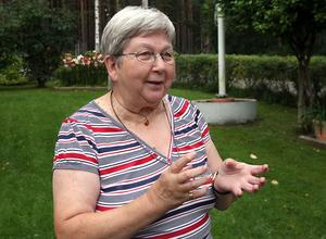 Sonja Larsson har haft ett intresse för växter sedan hon var barn.