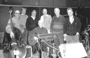 Radiohuset i Stockholm studio 4 måndagen den 25 november 1991. Här spelade Lennart och orkestern in Radioprogrammet Lunch-Boxen för P3.