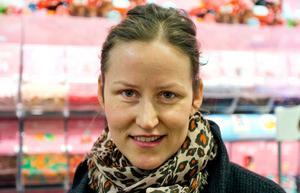 Amanda Sigholm, 33, Västerås:- Jag tycker absolut att fler mataffärer borde ta in de små godispåsarna. För barn är de ju jättebra.