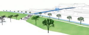 Förslaget från Tyréns har mött gillande bland allmänhet, kommunala tjänstemän och politiker. Det mesta talar för att bron i grunden får den utformning som Tyréns föreslagit.