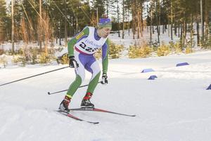 Jesper Persson var stark och bidrog med många poäng på hemmabanorna i Sveg