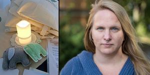 Den så kallade Swepis-studien visar risker med sen igångsättning av förlossning. Ida Croxford, Spädbarnsfonden, vill nu se ändrade rutiner i hela landet. Foto: Helene Berzelius och Karin Sundin.