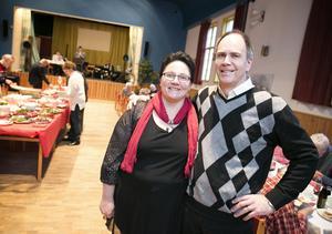 Catarina och maken Sören hoppas att gästerna hittar tillbaka till Söderbärkeparken efter förra årets uppehåll. Foto: Dennis Pettersson/arkiv