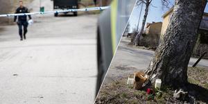 Uppgifterna om vem misstänks ha blivit mördad natten till söndag i centrala Smedjebacken har spridits snabbt.