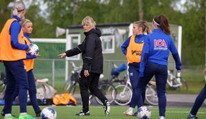 Anneli Andersén var hemma i Östersund i somras och passade då på att köra ett pass med Opes F17-lag.
