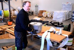 Lars Nordahl har lång erfarenhet av industrijobb.