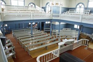 Vallsta missionshus blev Vallstakyrkan när Arbrå baptistförsamling och Arbrå missionsförsamling slogs ihop 1993 och bildade Forsbrokyrkans församling. Samtidigt byggde man ut kyrkan.