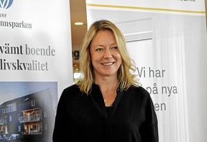 Katarina Hultqvist, som själv är uppvuxen i Gustafs, vill bygga bostadsrätter med