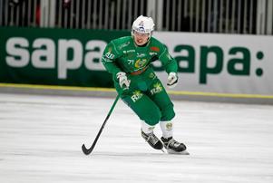 Milerud gjorde 25 poäng i elitserien den gångna säsongen, vilket är elva fler än föregående år då han spelade lika många matcher.