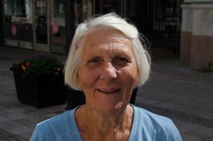 Britt-Inger, 82 år, pensionär, Sundsvall: