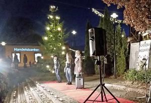 Modevisningen är ett speciellt kännetecken för Hedemora julmarknadFoto: Anette Andersson