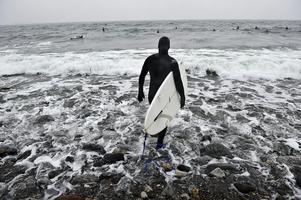 Surfare och andra intressegrupper ska bjudas in till möten om allemansrätten vid Ören. Foto: Anders Wiklund/TT