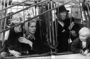 Liv Ullmann och Max von Sydow hade huvudrollerna i Jan Troells Utvandrarna/Nybyggarna.