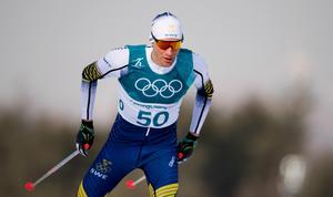 Daniel Rickardsson slutade sjua i femmilen i hans sista OS-lopp. Bild: Carl Sandin/Bildbyrån