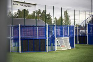 I fotbollsburen på Solrosens IP har slagsmål mellan barn förekommit.