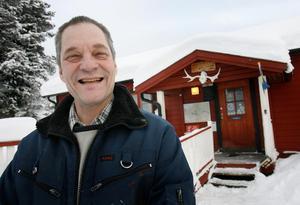 – Jag stortrivs som turismföretagare i glesbygden, säger Bo-Göran Lund som driver Storsjö Fiskecamp.