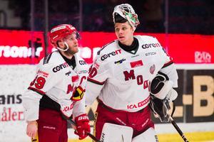 Linus Lundin spelade 19 matcher för Modo den gångna säsongen. Foto: Dennis Ylikangas / Bildbyrån