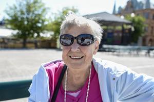 Birgit Bergqvist, 82 år, pensionär, Sundsvall.