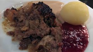 Kålpudding, en husmanskostfavvis.Foto: Lunchkollen