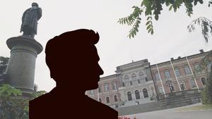 Kommunpolitiker från Dalarna stängs av vid Uppsala universitet. Plagierade inlämningsuppgift. Bilden är ett montage.