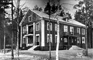 Så här såg huset ut på 1930-talet.