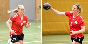 Linda Bängs Eriksson och Hanna Fredriksson har lika roligt i division 3 som i elitserien.