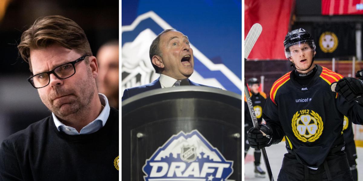 Här är Brynäsarna som kan skrälla i NHL-draften: