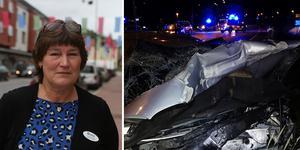 Foto: Hanna Persson och räddningstjänsten. Montage.