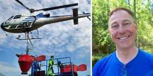 Sedan första bekämpningen, på vänstra bilden, har Jan Lundström och andra forskare upptäckt mycket om mygg. Foto: Malin Hoelstad/Scanpix och Jörgen Svendsen