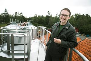 Björn Falkeström. Grundare av Oppigårds Bryggeri i Hedemora. Pris i kategorin Förädlare.