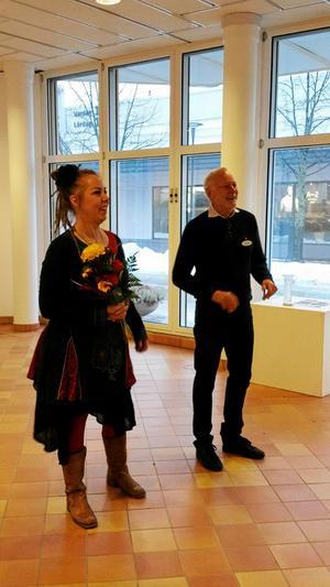 Maria Tjärnström och Carl-Gerhard Lindberg.