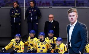 Adam Johansson följde Damkronornas OS-uppladdning i Füssen. Foto: Josefine Loftenius / BILDBYRÅN.