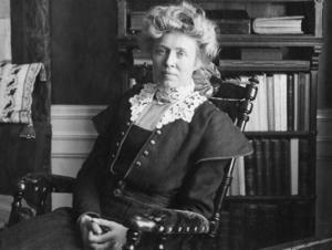 Frida Stéenhoff (1865-1945) kring år 1900. Bild: Scanpix