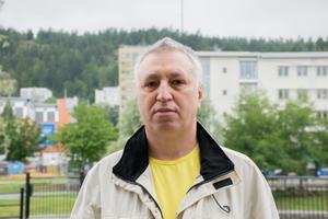 Lev Rayman, 49 år, arbetslös, Sundsvall.