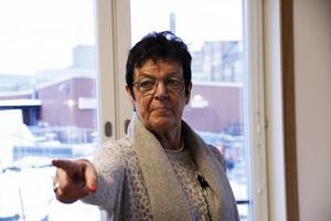 Inger Källgren Sawela (M) är kritisk till företagskulturen med hög spritrepresentation som har fått råda i de kommunägda försäkringsbolagen.