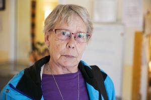 Birgitta Skoglund menar att de gamla på äldreboenden sällan klagar utan tiger trots att det är problem med maten.