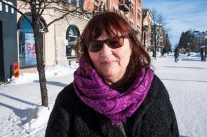 Åsa Forsberg Johansson, 63, lärare, Sundsvall.