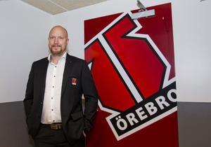 Niklas Johansson, sportchef i Örebro Hockey. Bild: Johan Bernström/Bildbyrån