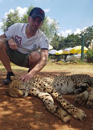 Johan Sundin besökte ett safari här om dagen.