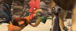 """Vackert så. En brokig skara djur lever sida vid sida i """"Savannens hjältar""""."""