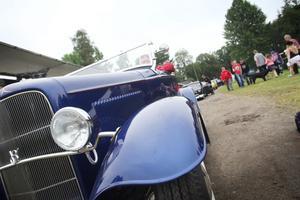 Hans Järvström har nyligen bytt bort sin Corvette mot en Ford från 1932.