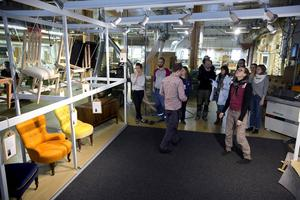 Träakademinens monter vid Stockholm Furniture Fair förhandsvisades under onsdagen.
