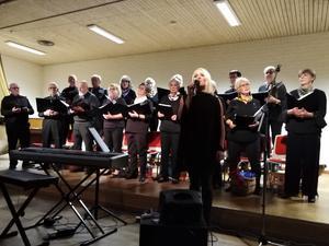 PRO Bjästas egen kör, New Old Singers tillsammans med skönsjungande Sara Karlsson, underhöll ett 150-tal på Entrébyggnaden i Bjästa. En fantastisk kväll!
