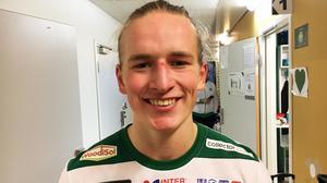 Douglas Karlberg gjorde VSK:s 1–0-mål mot Linköping.