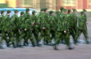 Foto: Esbjörn Johansson.År 2 000 var sista året som utbildning av värnpliktiga genomfördes innan regementet lades ner.