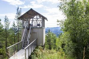 Inspirerad av barndomens trädkojor designade arkitekten Hanna Michelson Bergalivs unika lofthus.