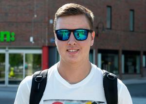 Pontus Nygård, 18 år, studerande, Sundsvall