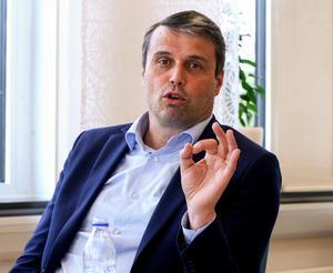 Frånvaron av Daniel Kindberg i ÖFK:s ledning har varit påtaglig sedan i tisdags.